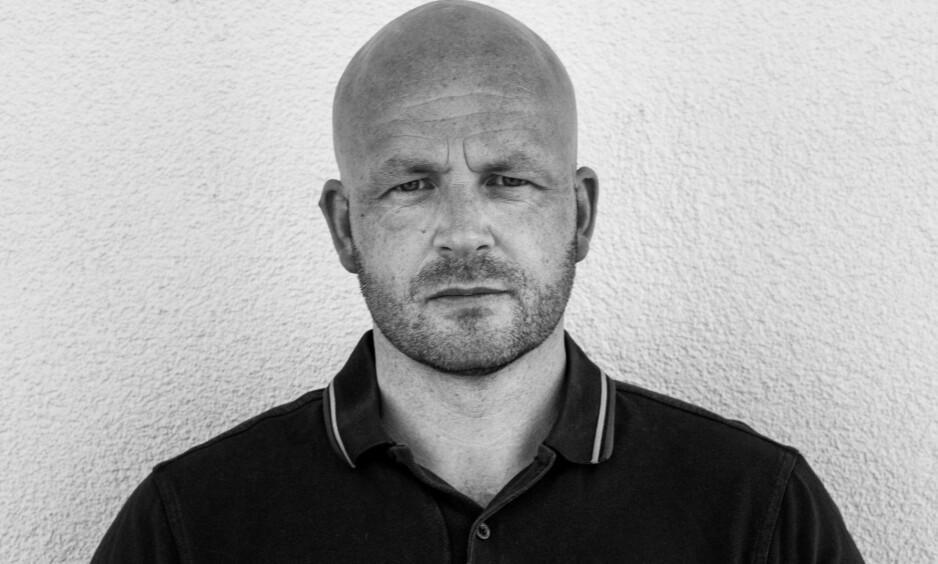 PRISNOMINERT: Kyrre Andreassen er nominert til Brageprisen for sin nye roman, den første på ti år. Foto: EIVIND MO ANDREASSEN / GYLDENDAL