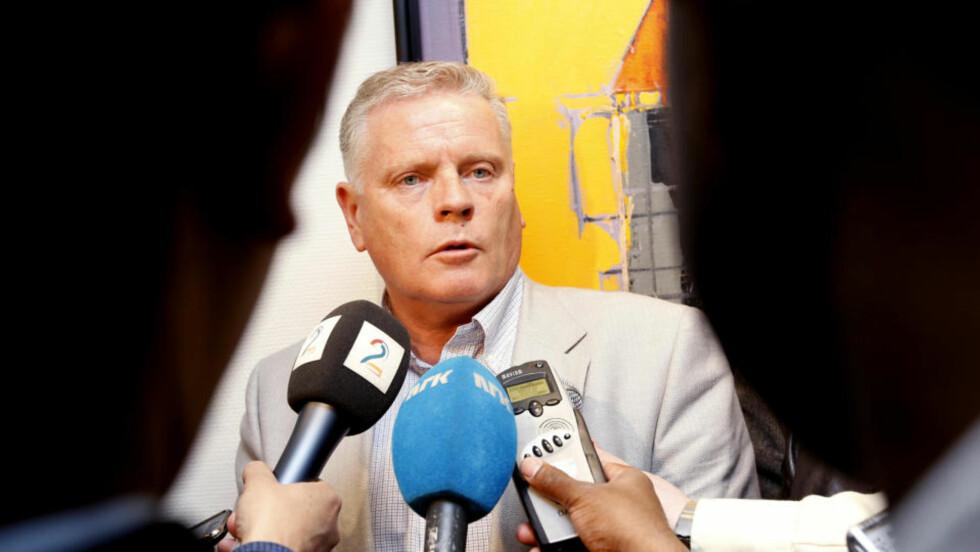 <strong>GÅR UT I STREIK:</strong>  Jan Davisen har vært forhandlingsleder for LO kommune. 17 000 kommuneansatte tas nå ut i streik. Foto: Gorm Kallestad / Scanpix