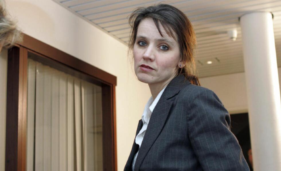 SKUFFET: Anne-Kari Bratten i Spekter er skuffet og mener at Unio ikke har vist vilje til å se på alternative muligheter for å løse konflikten. Bildet er fra innspurten av lønnsoppgjøret i 2007. Foto: Knut Falch / SCANPIX