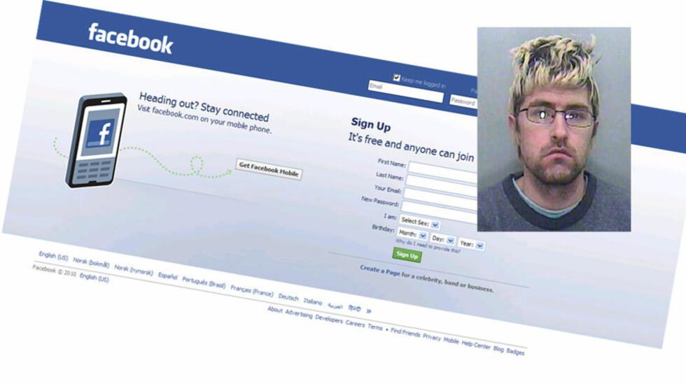 UTNYTTET BARN: Michael Williams brukte sosiale nettsteder som Facebook til å komme i kontakt med opp til 1000 barn.