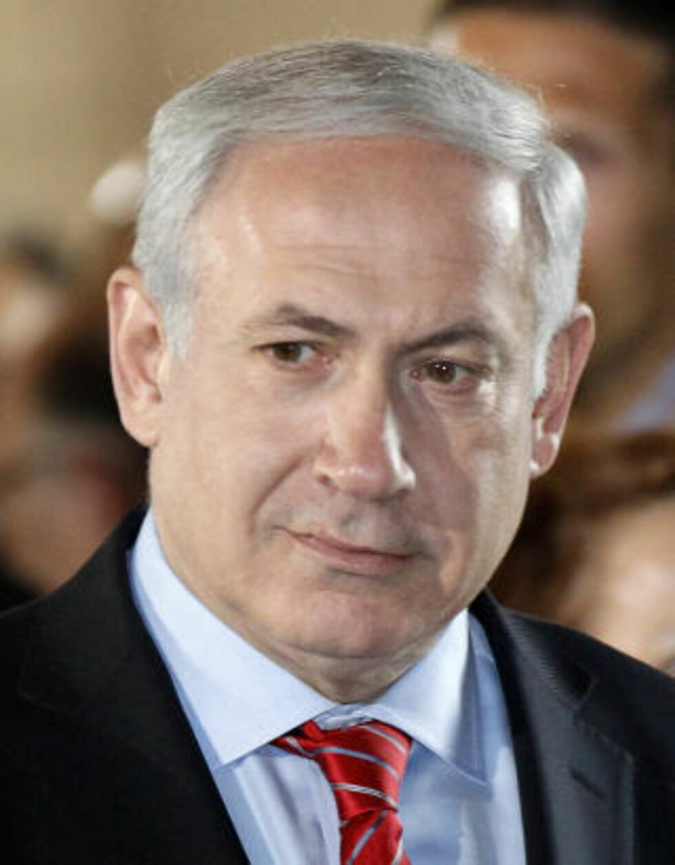 <strong>AVLYSER:</strong> Benjamin Netanyahu avlyser samtaler med Obama. Foto: REUTERS/Chris Wattie/SCANPIX