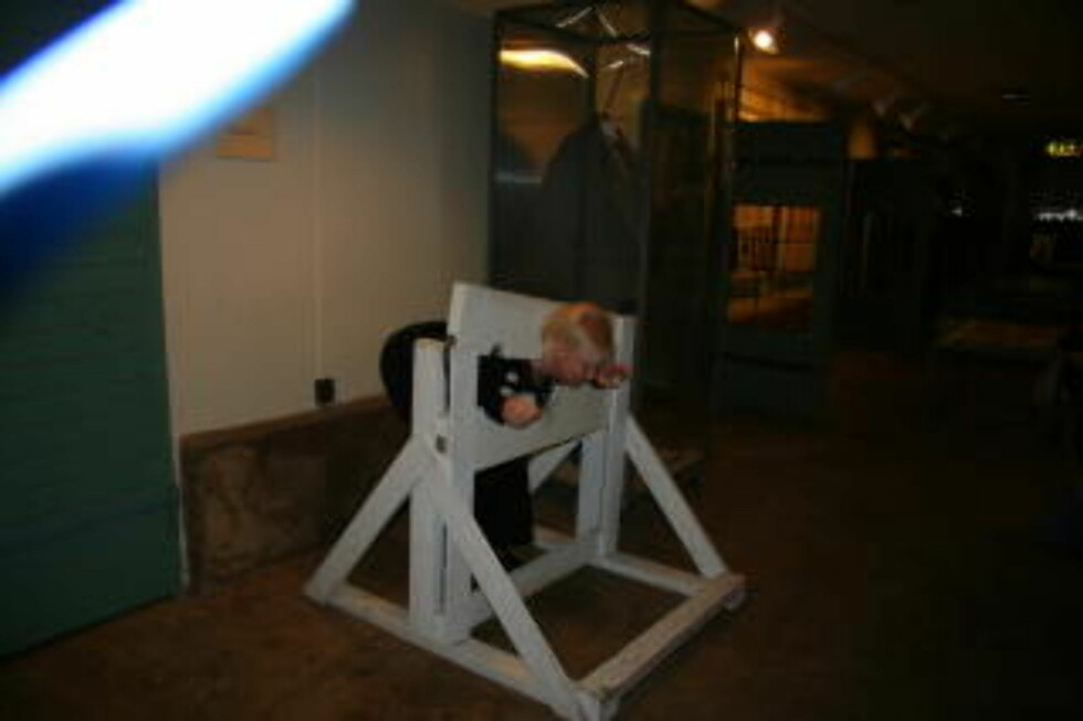 TIDLIGERE TIDER:  Før fengsler ble opprettet var dette en vanlig straffemetode.