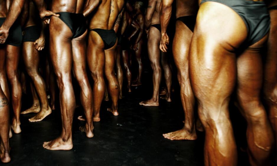 TESTES SJELDEN: Fitness- og kroppsbyggerne ble ikke testet under NM i år, til tross for at ni av elleve testet positivt i fjor. Bildet er fra NM i 2010.Foto: Siv Johanne Seglem / Dagbladet