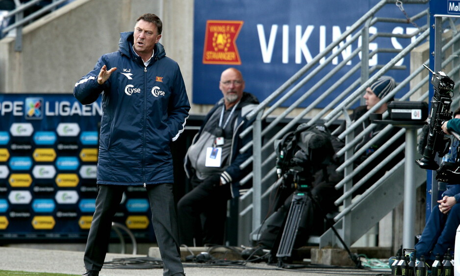 FERDIG I VIKING: Kjell Jonevret er ferdig som trener i Viking. Foto: Bjørn Langsem / Dagbladet