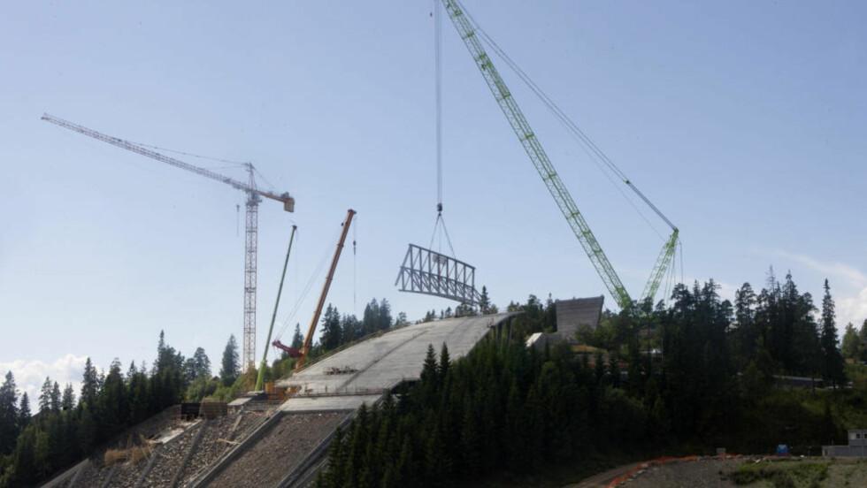 SPRENGTE BUDSJETTET: Den totale sprekken i Holmenkollen-prosjektet er på rundt 600 millioner kroner. Arkivfoto: SCANPIX