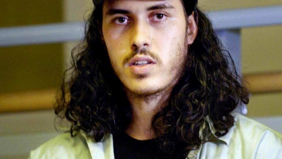 PÅGREPET IGJEN: Mehdi Ghezali holdt en pressekonferanse etter at han ble løslatt i 2004. Nå er han pågrepet igjen. Foto: Roger Vikstrøm/Expressen