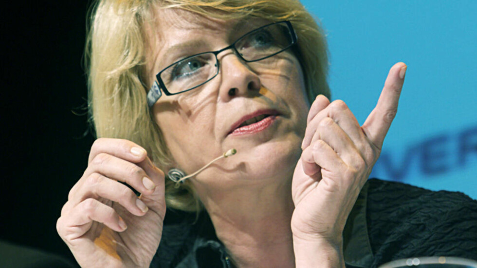 GIR RÅD: Eks-Sp-leder Åslaug Haga. Foto: MORTEN HOLM/SCANPIX