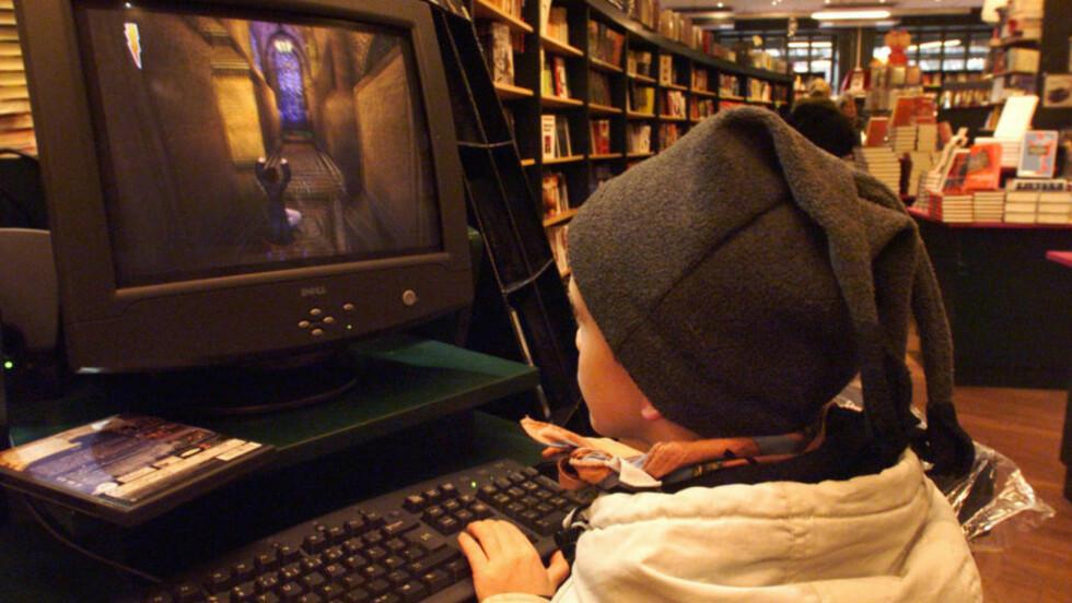 TIDLIG LÆRING: Barn bør få spille dataspill fra tidlig alder, viser undersøkelser. Foto: Morten Holm / SCANPIX