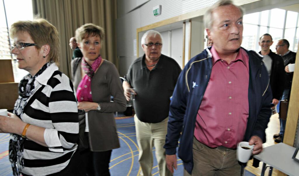 LETTET: Karl-Arne Johannessen er glad for at ingen norske dommere er mistenkt for korrupsjon. Foto: Geir Otto Johansen / SCANPIX