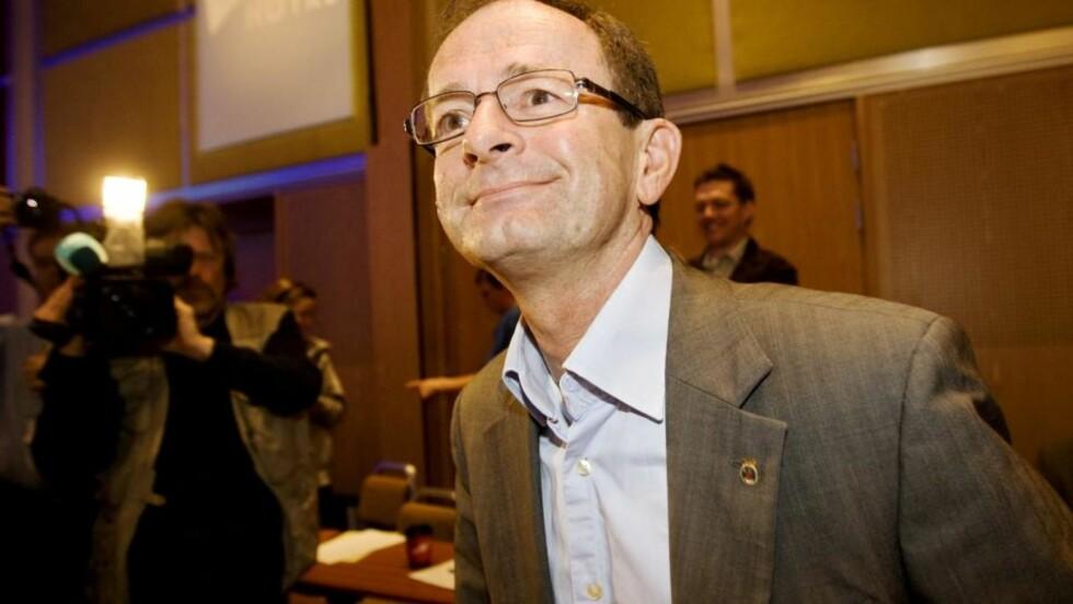 GÅR Erling Lae går i dag av som byrådsleder i Oslo. Han hevder det er for å gi arvtakeren tid til å forberede seg på valget om to år. Foto: SCANPIX