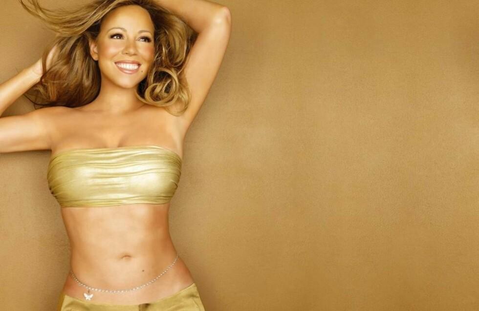 FANGET I MONOTONIEN: Mariah Carey har gitt ut sin mest anonyme plate, et album fritt for melodigrep eller noe annet å bli overrasket av.  Foto: Universal