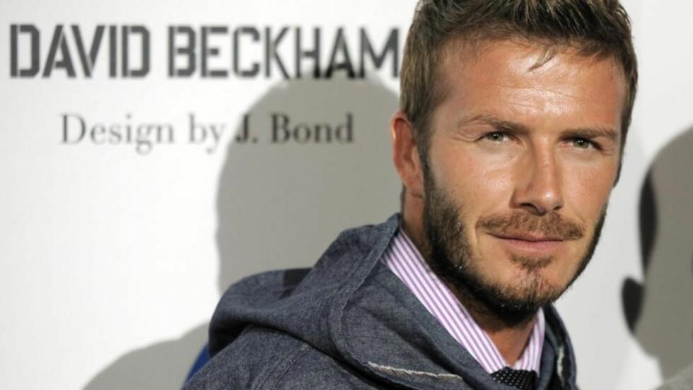 <strong>VIL SPILLE:</strong> David Beckham sier han er klar til å hjelpe LA Galaxy til omspill i Major League. Foto: Scanpix/AP