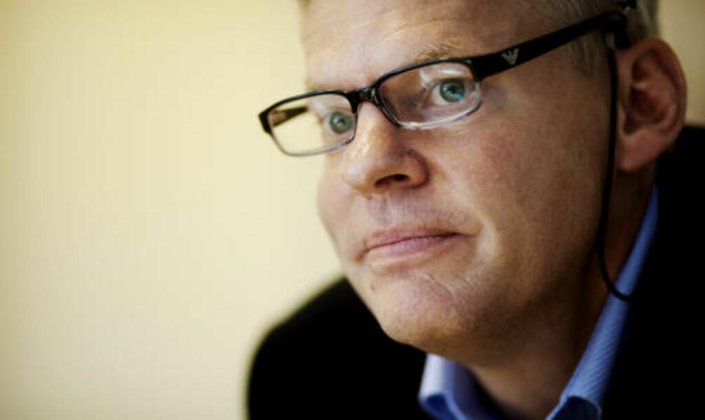 SYK KLIENT: Advokat Morten Furuholmen bistår Tjostolv Moland og Joshua French. Han ble hyret anonymt. Foto: Kyrre Lien / Scanpix