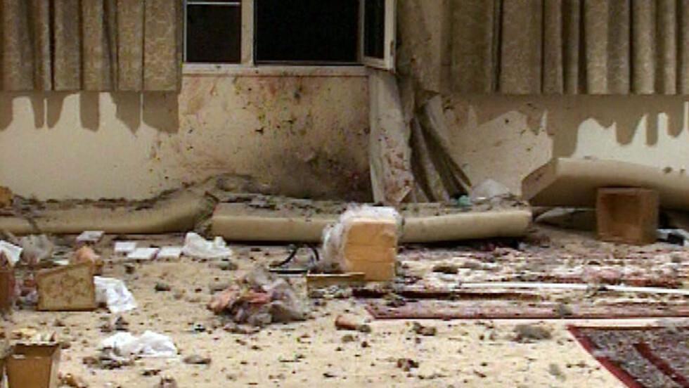 DØDELIG EKSPLOSJON: Angrepet i Jeddah 27. august tok bare livet av selvmordsbomberen, men eksperter tror det var første gang al-Qaida testet ut en metode der eksplosivene blir skjult i kroppen og at mer vellykkede angrep kan komme.
