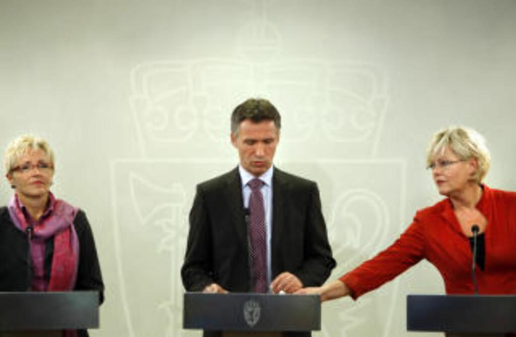 TØFFE FORHANDLINGER: Ifølge Dagsavisen har forhandlingene vært tøffere, spesielt for SV, enn for fire år siden. Foto: SCANPIX