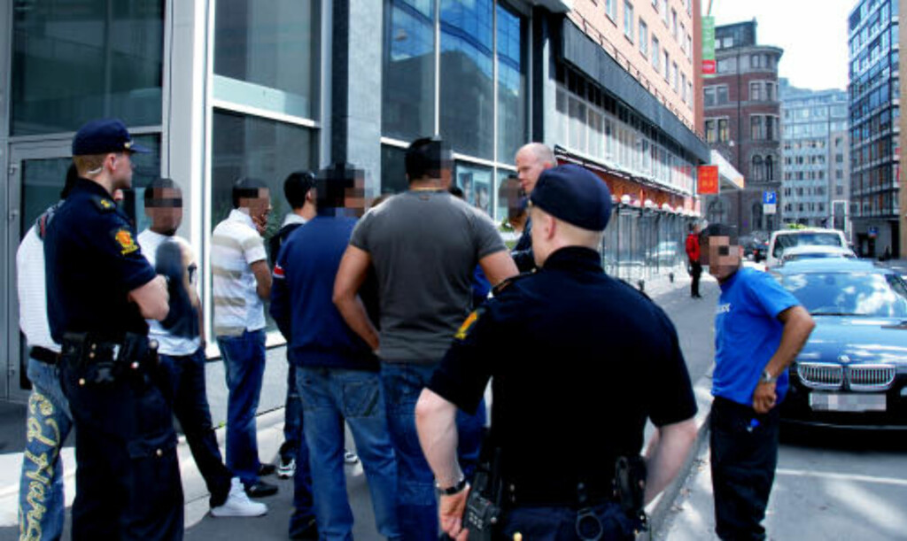 - GJENGSLAGSMÅL: Politiets gjengprosjekt ble tilkalt for å roe gemyttene gjengene i mellom 13. mai i år. Foto: Dagbladet