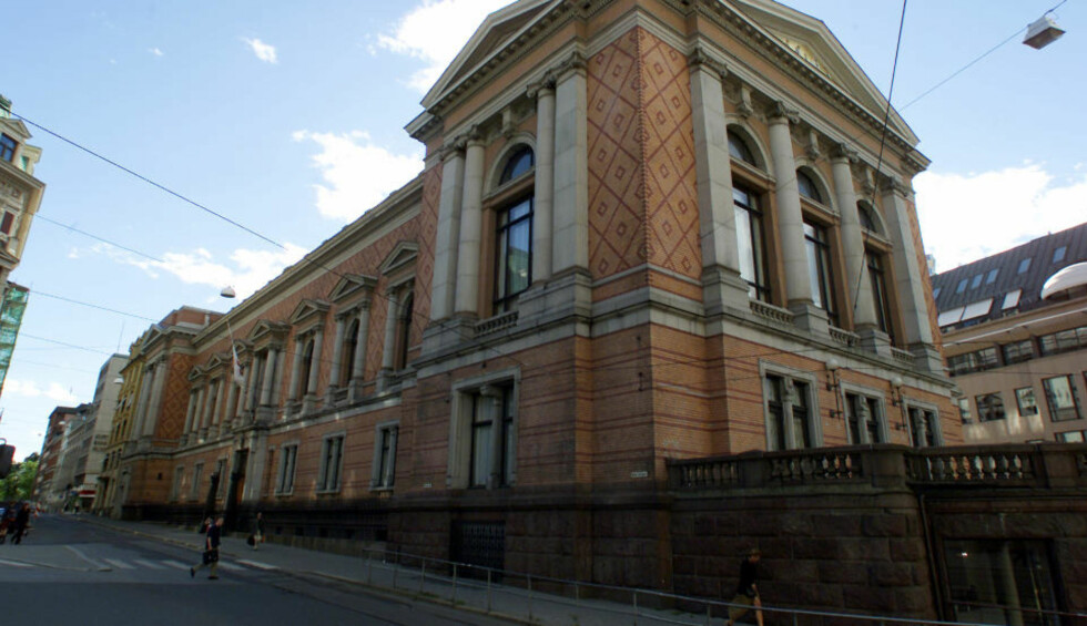 MAJESTETISK:  Hovedkvarteret til frimurerne er i denne bygningen som ligger svært sentralt i Oslo, like ved Stortinget. Foto: Lise Åserud / SCANPIX