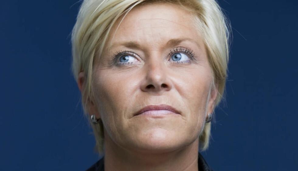 KOMITEEN MÅ TENKE SEG OM: Det mener partileder i Fremskrittspartiet, Siv Jensen, etter at Obama fikk fredsprisen i dag. Foto: SCANPIX. Foto: Berit Roald / Scanpix