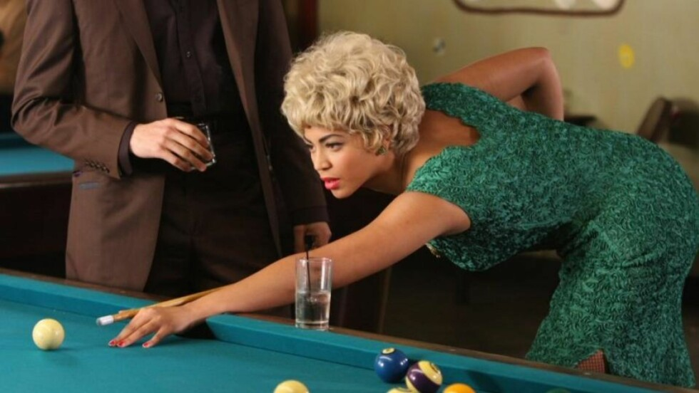 AKTUELL PÅ DVD: Beyonce Knowles spiller Etta James i Cadillac Records.