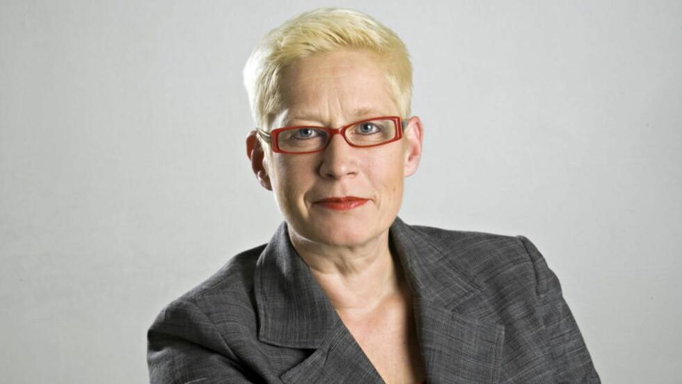 VIL DU SKAL HA NAVN OG BILDE I DEBATTENE:  Ansvarlig redaktør Anne Aasheim i Dagbladet. Foto: DAGBLADET