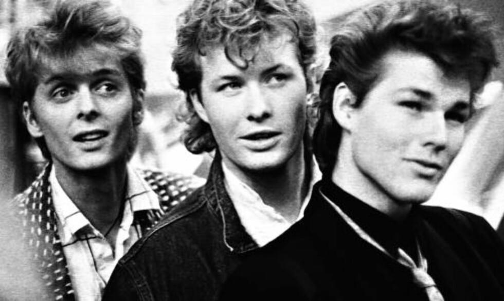 I  GLANSDAGENE: Her signerer gutta plater på Oxford Street i 1986. FOTO: KEITH HAMMETT