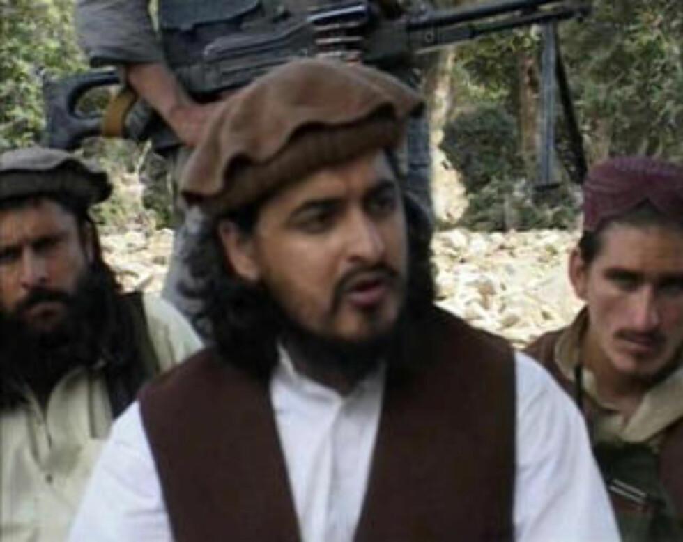 Talibans leder i Pakistan, Hakimullah Mehsud, er en av hovedaktørene den pakistanske hæren ønsker å bekjempe i Sør-Waziristan. (REUTERS)