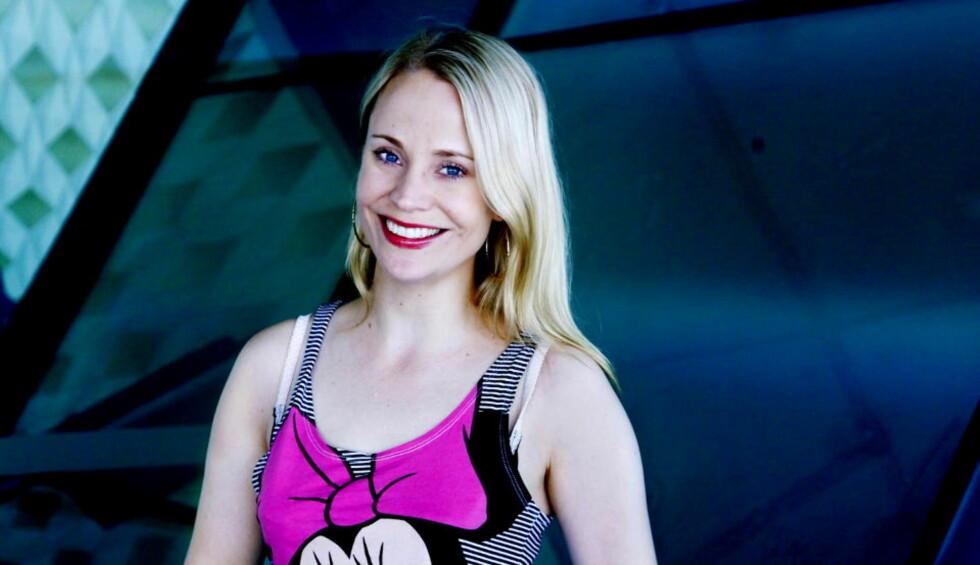 ELEKTROMELANKOLIKER: Annie er en glitrende popsnekker og en djevel på elektromelankoli, mener Dagbladets anmelder Sigrid Hvidsten. Foto: Steinar Buholm