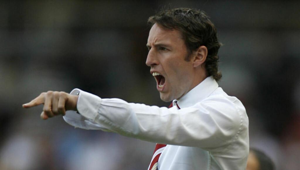 ARBEIDSLEDIG: Middlesbrough ligger på fjerdeplass i mesterskapsserien, men i går fikk Gareth Southgate sparken. Foto: AFP PHOTO/IAN KINGTON