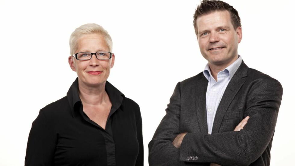 DAGBLADET-TOPPER: Sjekk hvor mye redaktør Anne Aasheim og administrerende direktør Terje Wibe tjente.