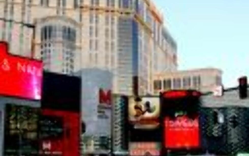 PLANET HOLLYWOOD:  Gigahotel på The Strip i Las Vegas.