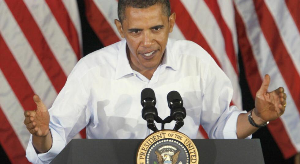 1000 DØDE: Utbruddet av svineinfluensa er nå så alvorlig i USA at Barack Obama erklærer en nasjonal krisesituasjon. Foto: REUTERS / Jason Reed / SCANPIX