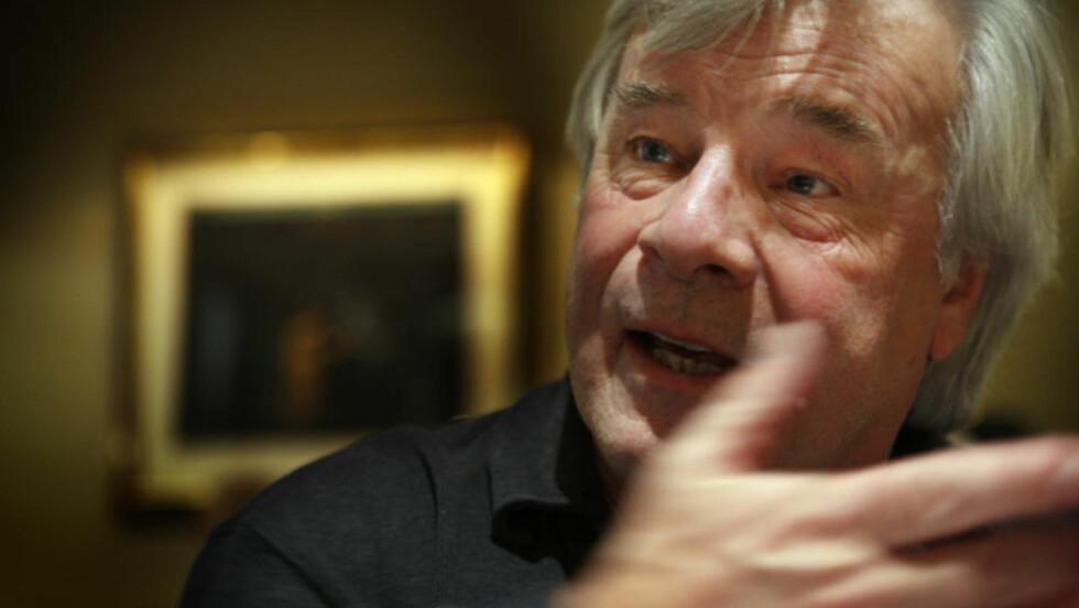 INNRØMMER SPIONAKTIVITET: Jan Guillou mener bråket rundt KGB-avsløringene er dratt ut av proposjoner. Foto: Heiko Junge / SCANPIX