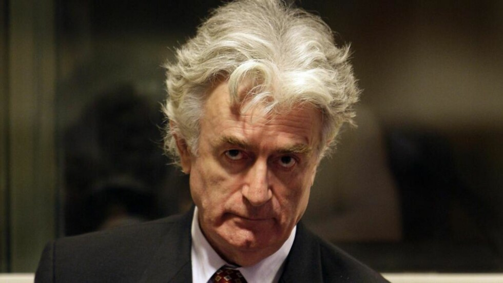 RETTSSAKEN STARTER: Radovan Karadzic, her fotografert i august i fjor. Foto: AP Photo/ Valerie Kuypers/Scanpix