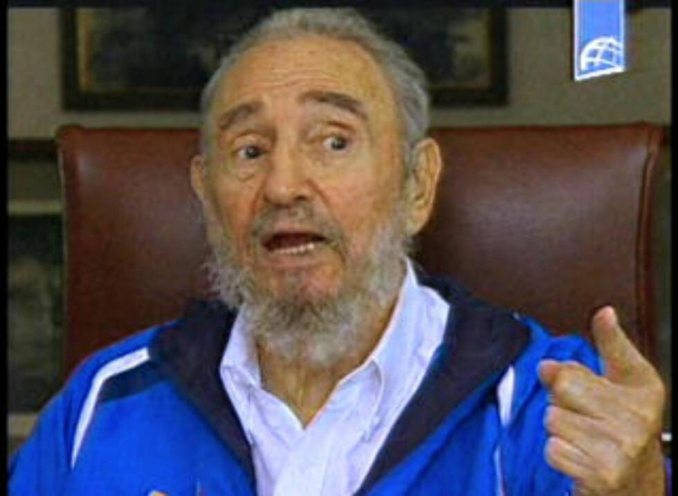 I HØST: Fidel Castro (83), her i et videopptak i august 2009, overlevde et langt sykeleie og omfattende operasjoner, men har overlatt presidentembetet til broren.