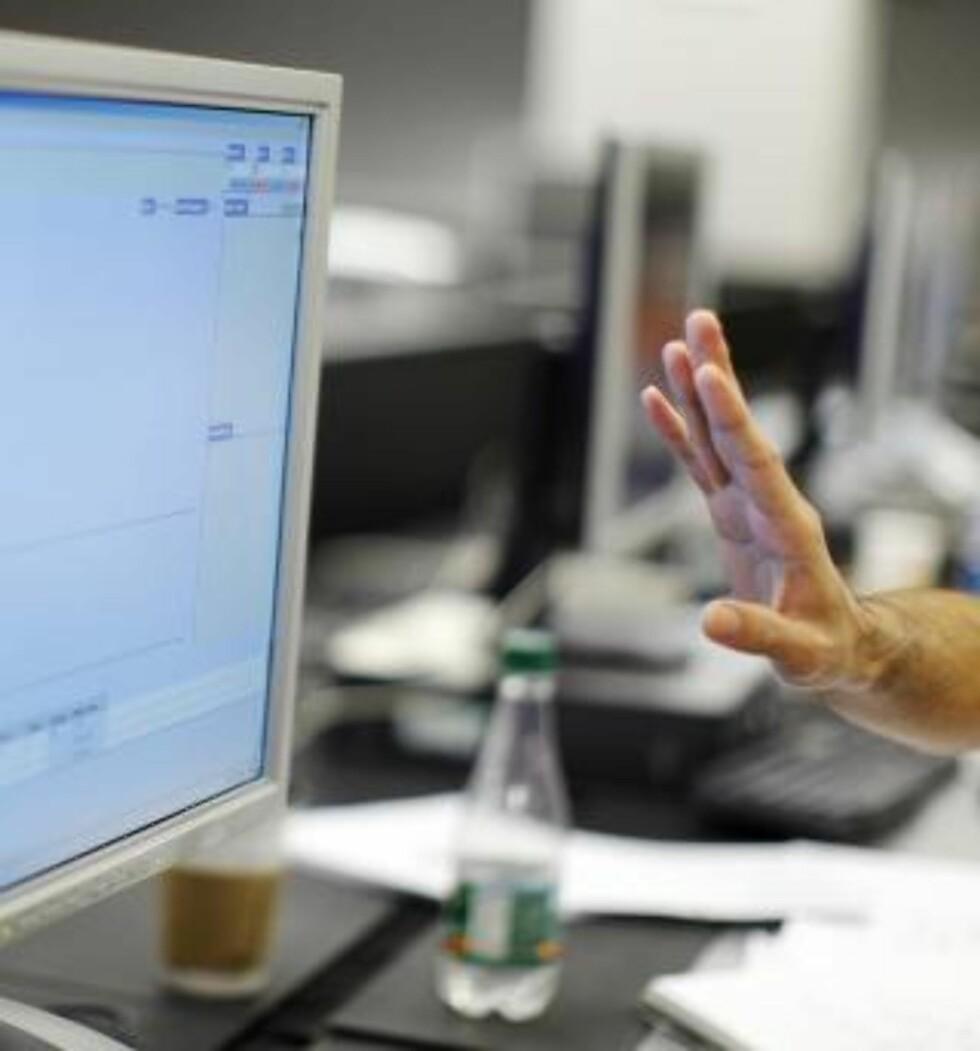KARTLEGGER BEVEGELSENE: Nettleverandører kartlegger våre bevegelser på nettet allerede slik at de kan sende oss regniger, men i framtida kan det være staten som pålegger selskapene å ta vare på opplysningene i flere år.  Foto: Brian Snyder/REUTERS