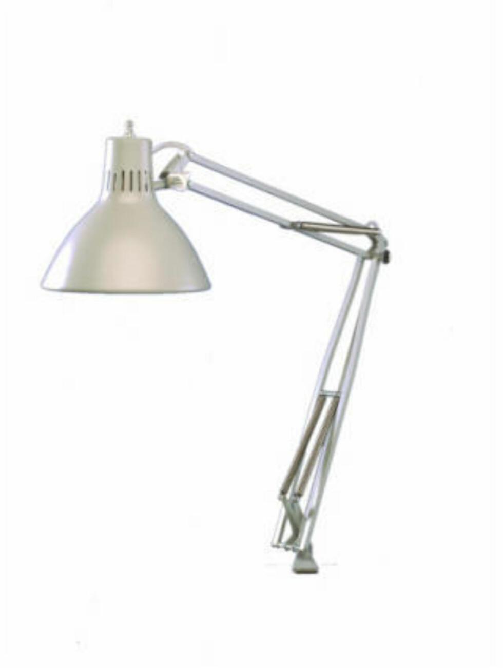 ORIGINALEN: Luxo har produsert lamper i over 70 år, og modellen LS er mest lik den Pixar har kopiert.