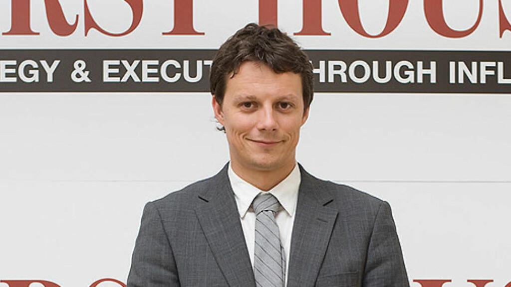 ANSATT: Tidligere Statssekretær Ketil Lindseth skal begynne som rådgiver i firmaet First House, sammen med blant andre Bjarne Håkon Hanssen. FOTO: FIRST HOUSE