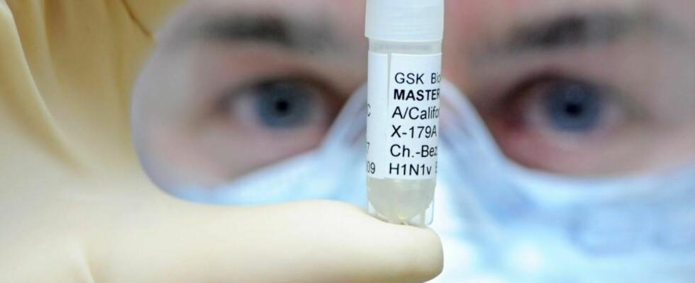 VIL GI VAKSINERABATT: Legemiddelprodusenten GlaxoSmithKline gir bort 50 millioner influensavaksiner til utviklingsland. De har også forpliktet seg til å selge rimeligere vaksine til disse landene gjennom WHO.  Arkivfoto: EPA/SCANPIX