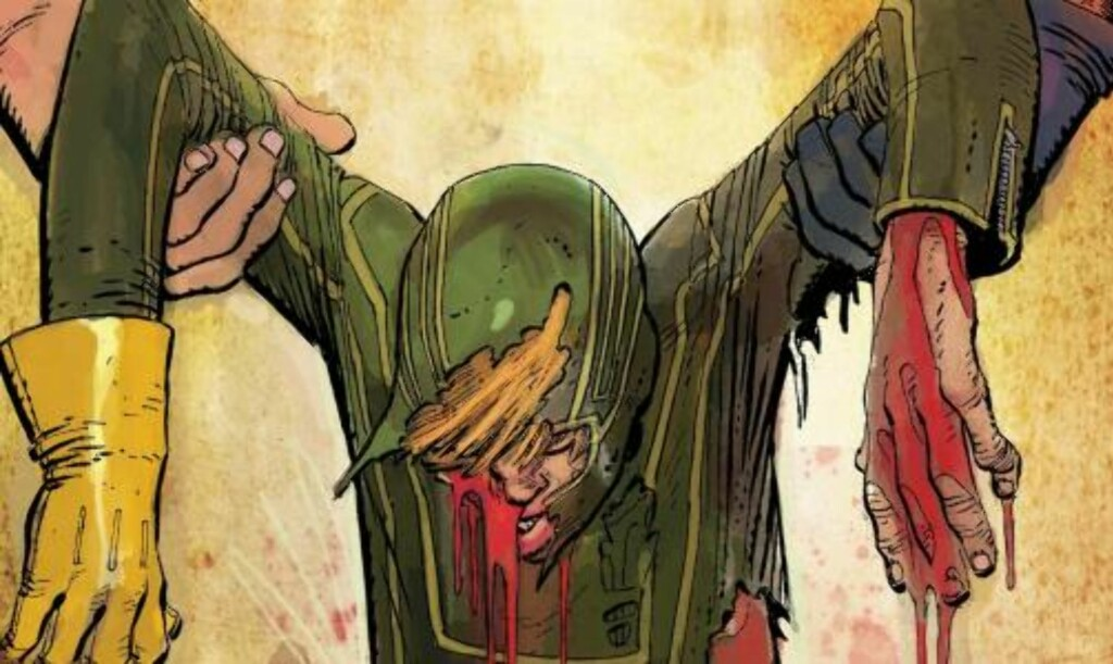 BLODIG: Tegneserieversjonen er ganske kraftig kost, og filmversjonen vil ikke bli noe snillere, ifølge regissøren.