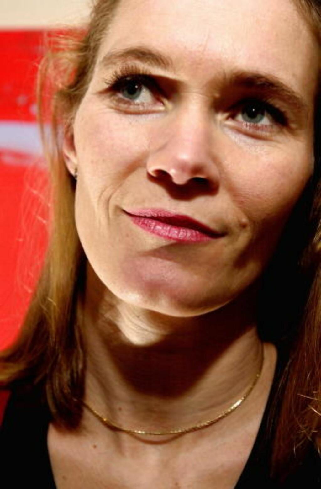 - OPPTRER SPESIELT: Statoils Lofote-gruppeleder, Hege Marie Norheim, om Havforskningsinstituttet. Foto: Robert S. Eik/ Dagbladet.