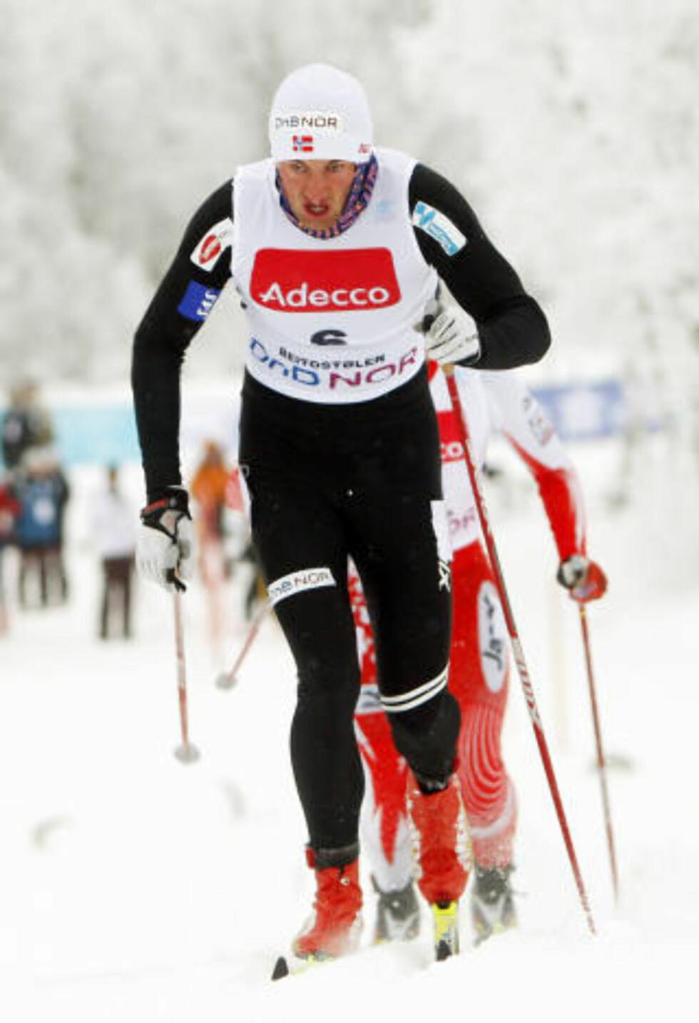 SNUBLET: Petter Northug. Foto: Heiko Junge / Scanpix