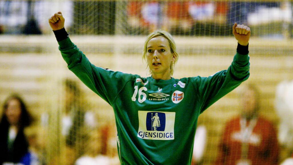 REISTE SEG: Katrine Lunde Haraldsen spilte svakt før pause, da hun kom inn mot slutten slo hun tilbake.