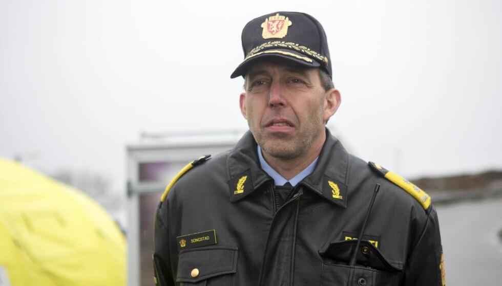 FIKK VARSEL: Politimester Kåre Songstad i Vest politidistrikt. Foto: NTB Scanpix