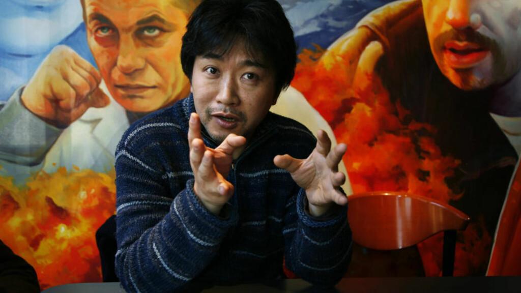 KINOAKTUELL: Den japansk filmregissøren Hirokazu Kore-eda var nylig i Norge for å promotere dramaet «Still Walking».                      Foto: Steinar Buholm
