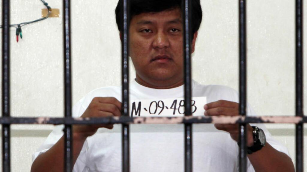 SIKTET: Andal Ampatuan jr. er siktet for mandagens massakre på 57 personer på filippinene. Foto: AP Photo/Bullit Marquez/Scanpix