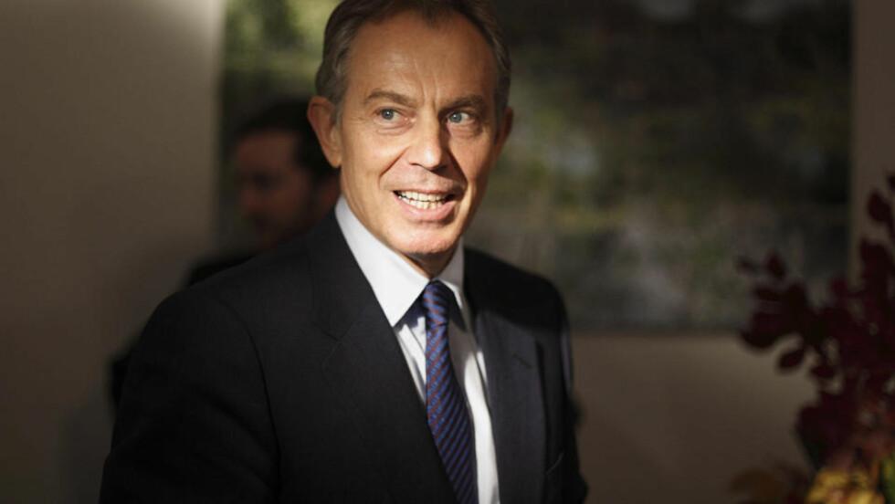 HEMMELIG BREV: Et hemmelig brev fra 2002 om lovligheten av Irak-krigen kan skape trøbbel for Storbritannias tidligere statsminister Tony Blair. Foto REUTERS/SCANPIX