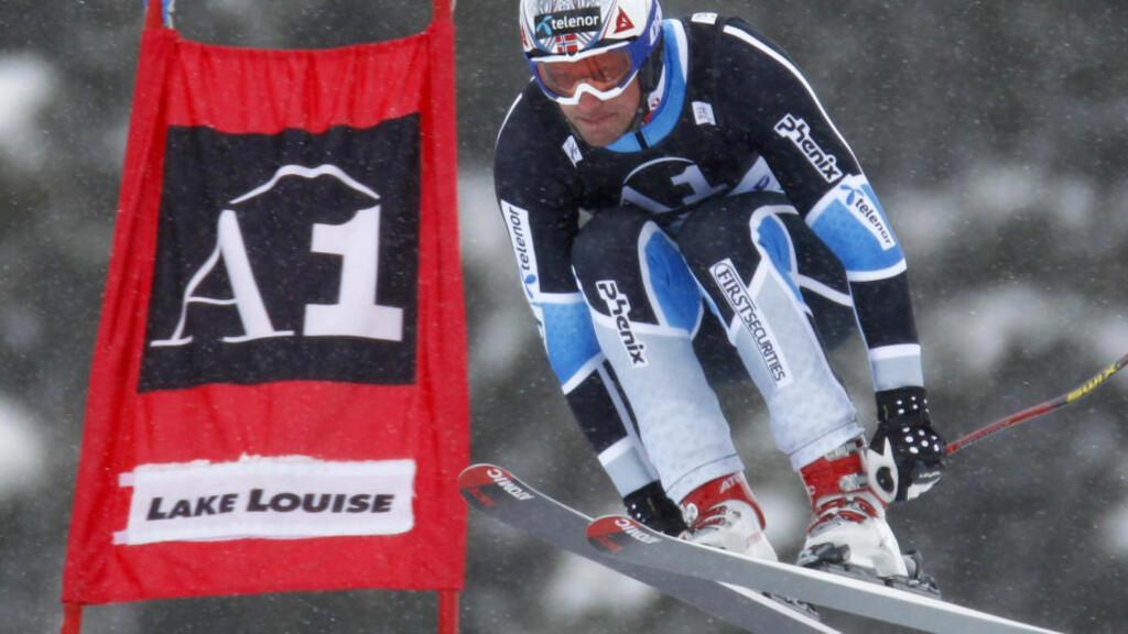SKRYTER AV NETTVERKET: Aksel Lund Svindal forteller at hans sponsor dekker kostnader skiforbundet pleier å ta. Foto: REUTERS/Mike Blake