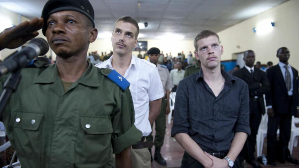 DØMT TIL DØDEN: Kongo-ekspert er kritisk til Molands strategi i retten. Foto: Øistein Norum Monsen