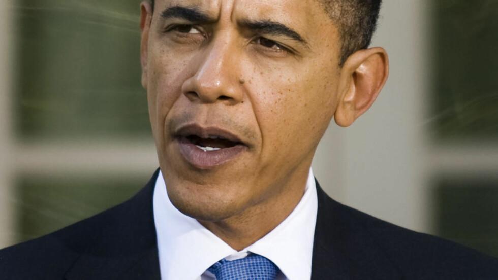 TERNGER 19 STEMMER TIL: Foreløpig har USAs president Barack Obama en lang vei å gå for å oppfylle klimaløftet han har gitt verden. Foto: AFP/ SCANPIX.