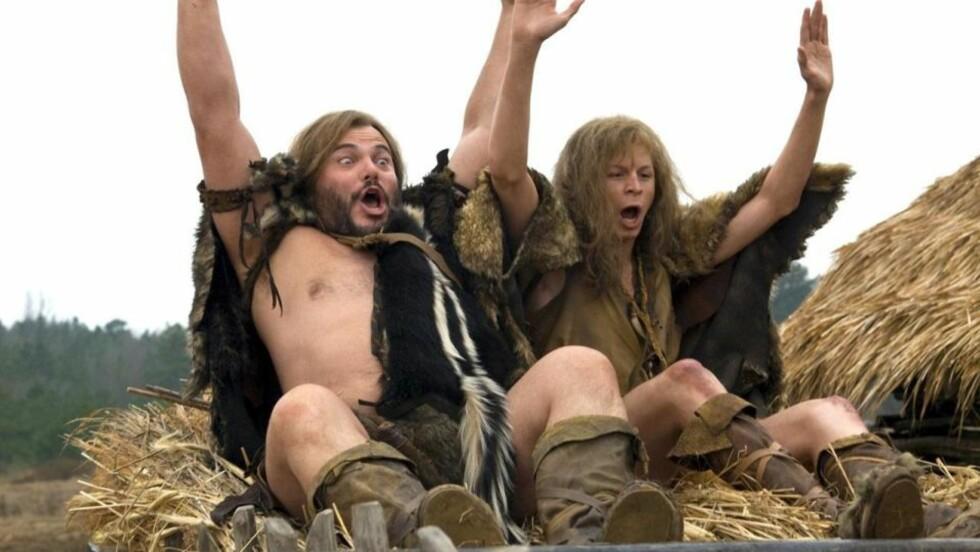 Gutta på tur: Jeger Zed (Jack Black) og sanker Oh (Michael Cera) drar på eventyr og ender opp i selveste Sodoma. Men det skjer ikke mye moro der. Heller ikke andre steder i denne komedien signert Harold Ramis.